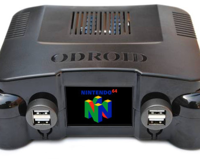 Professional 61 Console Retropie Odroid XU4 System w/ OGST Case w/ Working LCD - 200 Gb Of Games - Saturn, PS1, Dreamcast, N64 & MUCH more