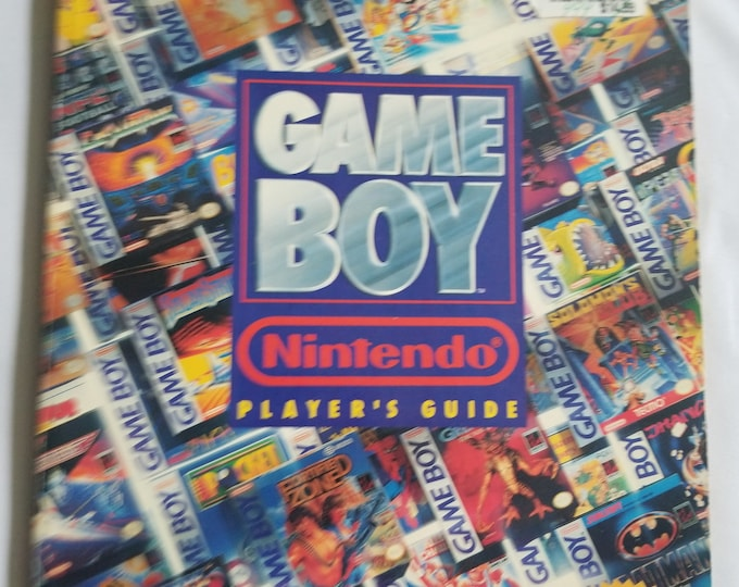 Nintendo Game Boy Vintage Player's Guide Book