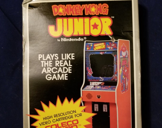 New Sealed Colecovision Donkey Kong Junior Vintage Video Game