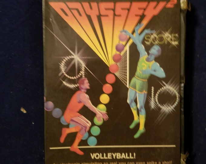 Magnavox Odyssey 2 Volleyball! in Retail Box with Manual and Cartridge