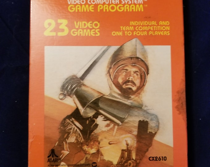 Atari 2600 Warlords Vintage Video Game Complete