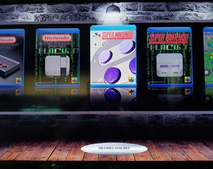 Ultimate 46,000+ Game Retropie Video Game System NES and SNES Cases Available - Raspberry Pi Nes Snes Atari Sega Kodi Pixel Desktop Arcade