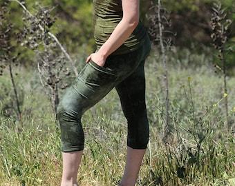 Normline Womens Drawstring Waist Elastric Waistband Lace Spliced Hem Loose Shorts