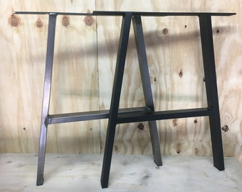 Metal Table Legs Etsy - How to make metal table legs