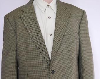 Vintage Brooks Brothers blazer - Brooks Brothers jacket - Sports Jacket - Mens blazer - Tartan blazer - Tweed blazer