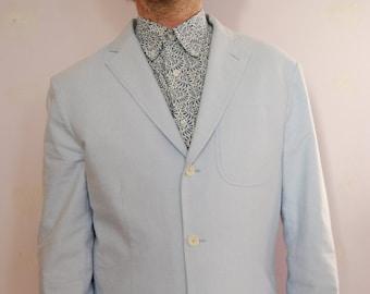 Vintage Ralph Lauren jacket - Ralph Lauren blazer -  Blue blazer - Blue jacket - Sports Jacket - Mens blazer - Summer blazer - Ralph Lauren