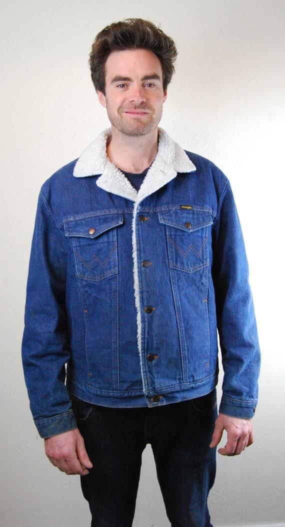 Wrangler denim jacket. Wrangler Western Denim Truc