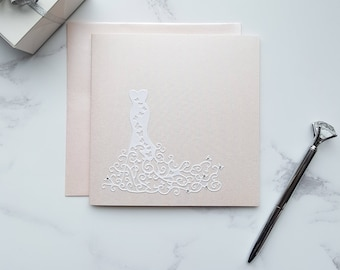 bridal shower card bride to be card bride card hen party card