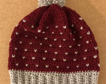 NEW! Snowfall Slouchy Hat