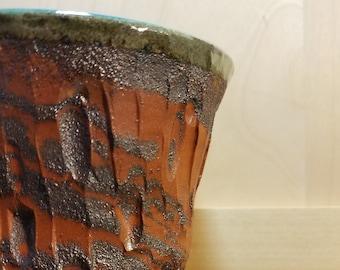 Marbled Clay Vase