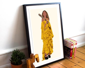 Beyonce INSPIRED Poster - Hold Up / Lemonade Print / Minimalist Art / Queen Bey / Music Poster / Home Decor / Beyonce Poster / Beyonce Gift
