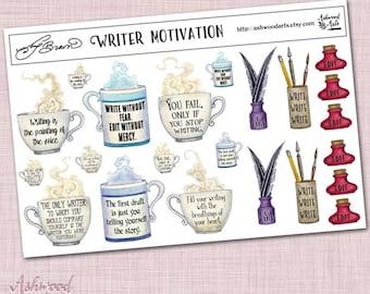 Amy Brown Writer Motivation Stickers Ashwood Arts