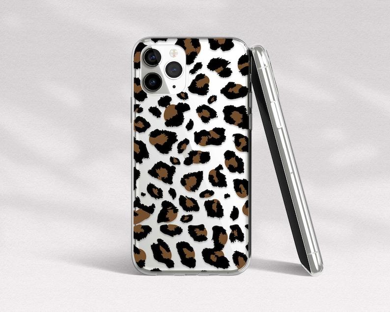 Cheetah Phone Case 11 Pro Max iPhone 11 Case Clear iPhone XR Leopard Case iPhone X Case Wild Cat Lover Gift iPhone SE Case XS Max 8 Plus 7 6