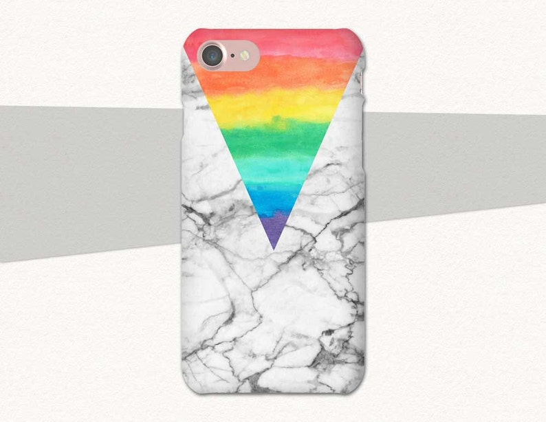 new style 72411 aace6 Rainbow Phone Case Pride Marble iPhone 6 Case, Rainbow iPhone 7 Case,  iPhone Case Rainbow, iPhone Case Marble, iPhone 7 Plus, iPhone 6S Plus