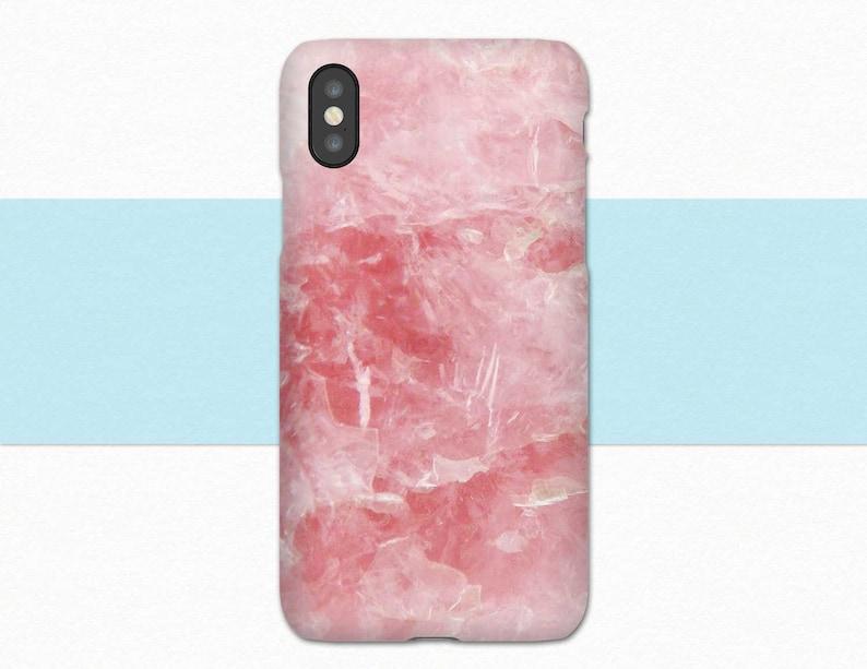 rose quartz iphone xs max case