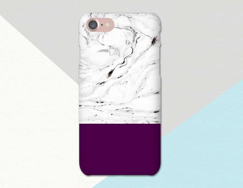 online store da0f2 8fc42 Purple Marble iPhone Case, Purple Phone Case, Dark Purple iPhone 7 Case,  iPhone 6 Case Purple, iPhone SE Purple, iPhone Case, iPhone 6S Plus