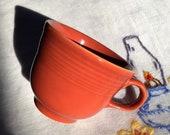 Fiesta Coffee Tea Cup Cinnabar