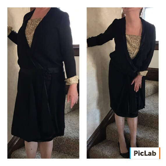1920s Flapper Dress Vintage Dress