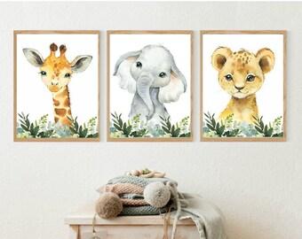 Jungle Theme Nursery | Etsy