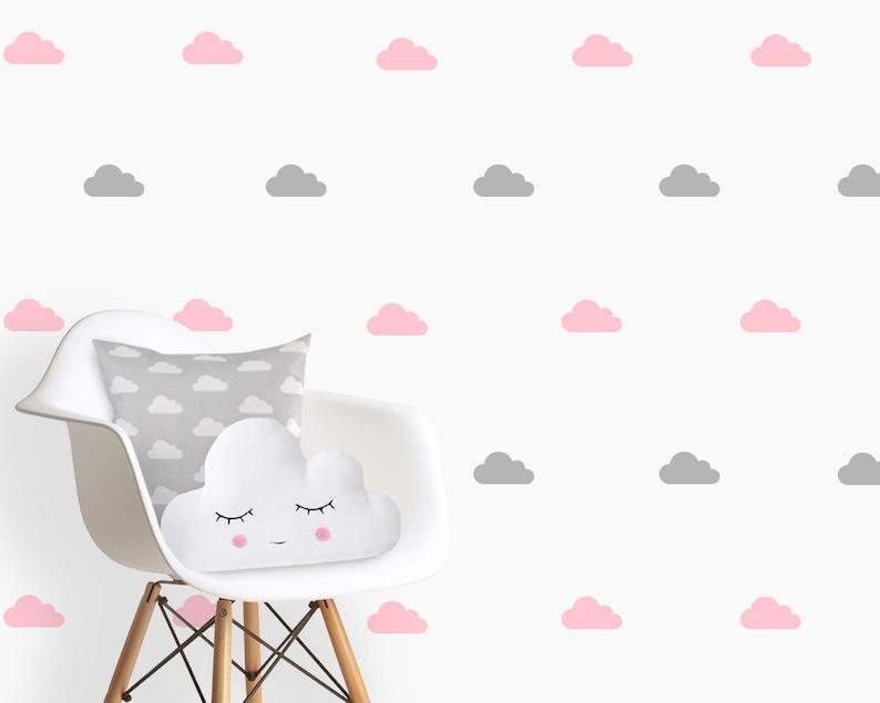 Wandtattoo Wolken Wolken Kinderzimmer   Etsy