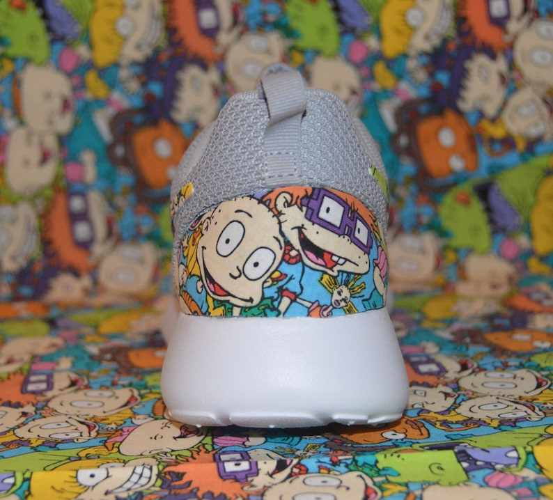 new products 46fa5 fa53f Rugrats Cartoon Custom Nike Roshe Run One Shoe Sneaker Grade   Etsy