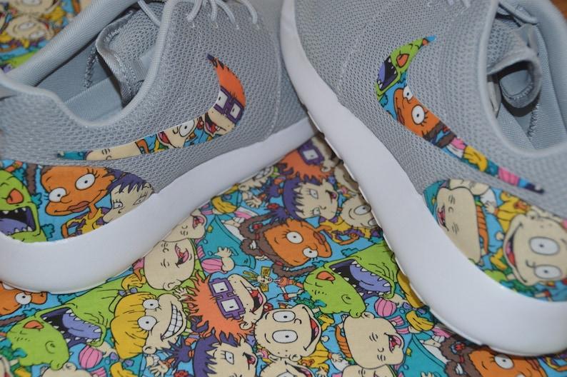 457f95796dbc6 Rugrats Custom Nike Roshe Run One Shoe Sneaker
