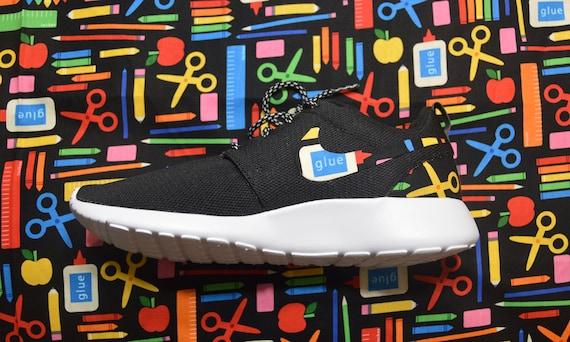 a3a679c44ad10 Back To School Teacher Custom Nike Roshe Run One Shoe Sneaker