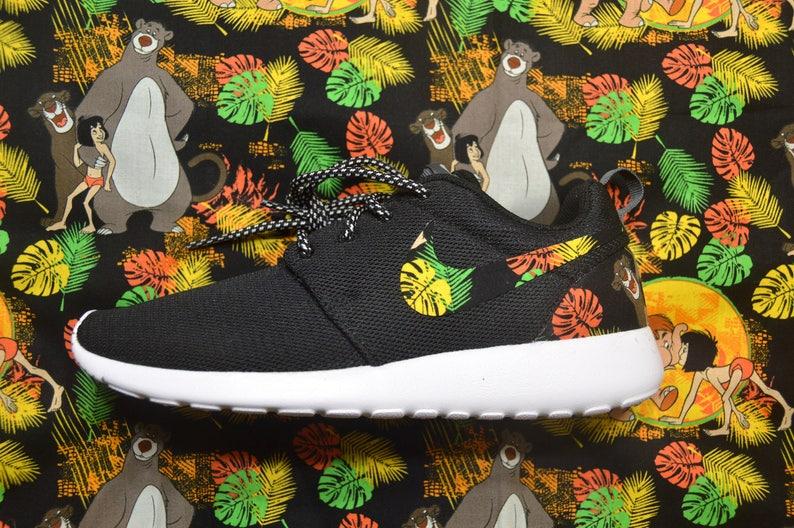 c0f5d68d51 Jungle Book Custom Nike Roshe Run One Shoe Sneaker Grade | Etsy