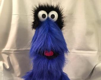 Puppet, Monster Puppet, Hand Puppet, Blue, Doll, Ventriloquist, Marionette, Puppeteer