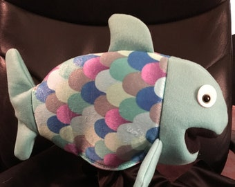 Puppet, Fish Puppet, Hand Puppet, Rainbow Fish, Ventriloquist, Marionette, Puppeteer, Doll