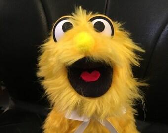 Puppet, Monster Puppet, Hand Puppet, Yellow, Doll, Ventriloquist, Marionette, Puppeteer
