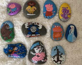 Bespoke Mixed Character Story Stones Set