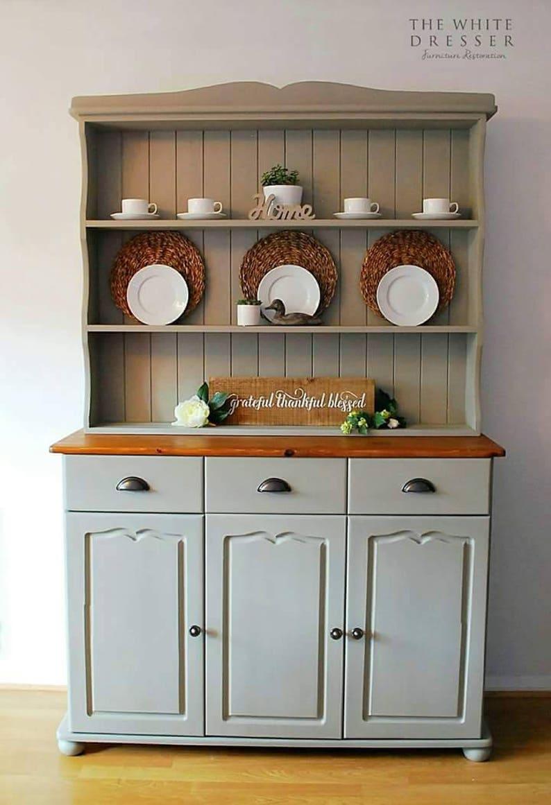 NOW SOLD Stunning Welsh Dresser Painted Kitchen