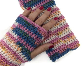 Gehäkelte Handschuhe Etsy