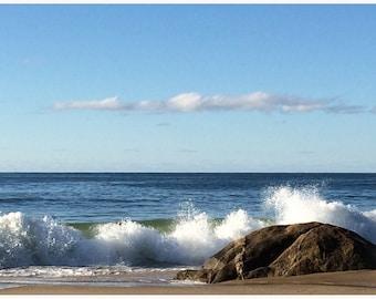 Cape Cod,Lucy Vincent Beach,  Ocean Waves, , Beach Decor, Summer, Beach, Housewarming gift,  Martha's Vineyard