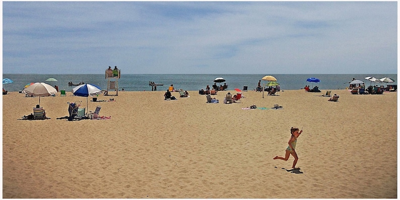 Cape Cod day at Craigville  Beach Photograph 9x12 image 0