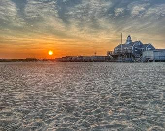 Cape Cod Sunset, Beach Sunset, Craigville Beach, Craigville Beach CBA, Summer Wall Art, Summer Photography, Beach Decor, Fine Art Print