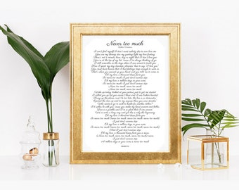 Rb and hip hop finish the lyrics baby shower game songs etsy luther vandross song lyrics r b 80s music poster typography love songs african american art never too much full lyrics stopboris Gallery