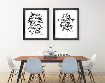Set Of Two Anita Baker Lyric Print | Song | Lyrics | Typography | Poster | Wall  Decor | Urban Art | African American Art | Anita Baker