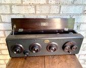 Vintage Atwater Kent Model 20 Radio Receiver 1920 39 s 5 Tube Receiver Radio Vintage Radio Collectible Radio