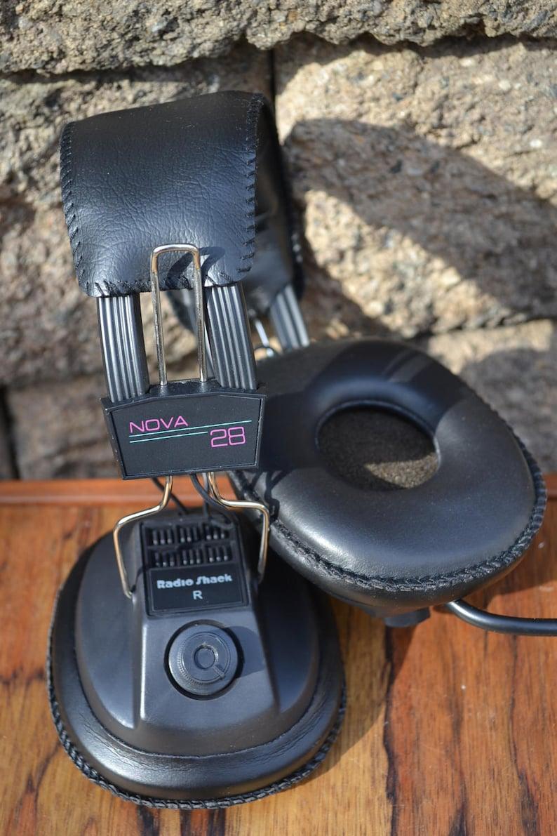 Casque Vintage Nova 28 Realiste De Radio Shack