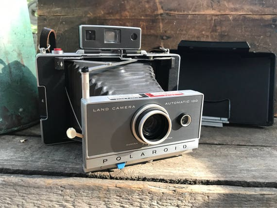 Rocket Golf Entfernungsmesser : Polaroid automatische land kameramodell 100 jahrgang etsy