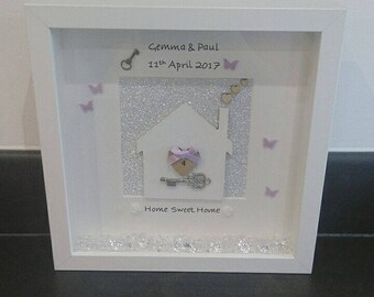 Lovely Home Sweet Home Picture Frame