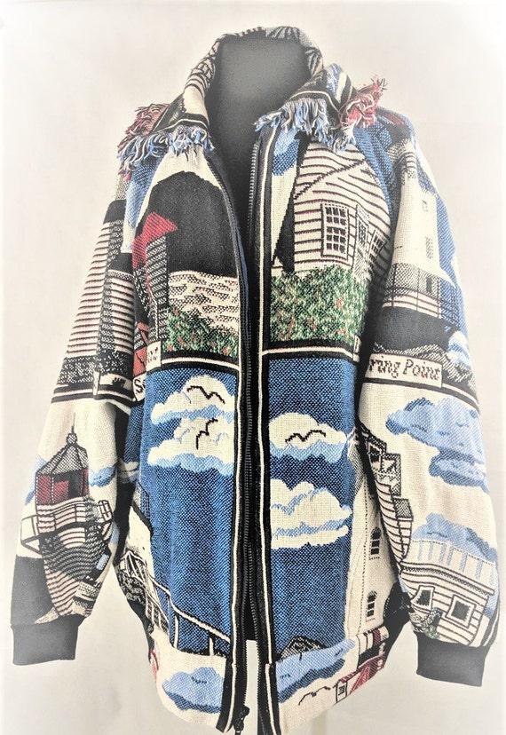 Jacket Handmade Coat Blanket