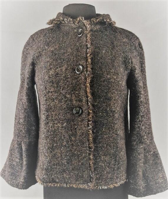 Zara Woman Suit Mohair Blend Knit Suit Spain