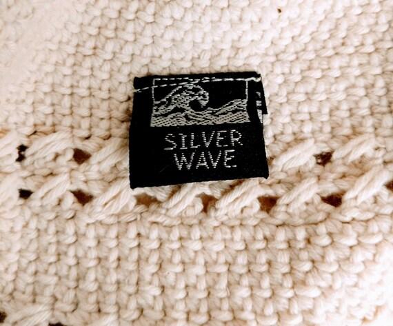Summer Bucket Hat Wide Brim Crocheted Vintage - image 9