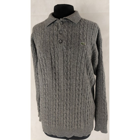 Lacoste Sweater Wool Fisherman