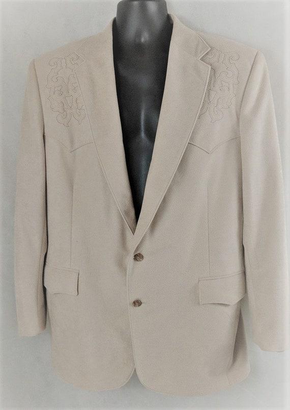 Cowboy Blazer Pagano West Western Suit Jacket Rock