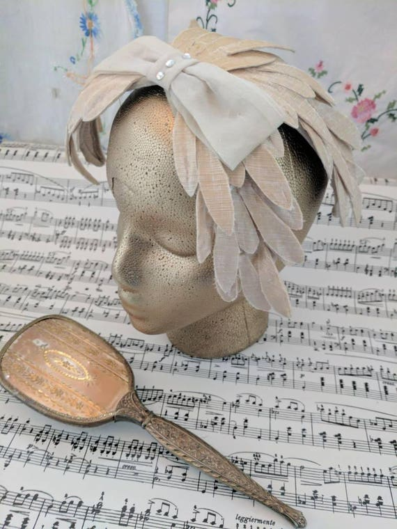 Fascinators Hat Feather Bow