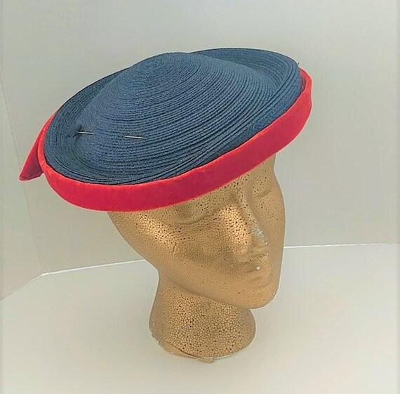 Pillbox Hat Hattie Carnegie